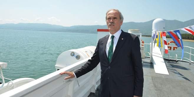 Altepe: İznik Gölü cazibe merkezi olacak