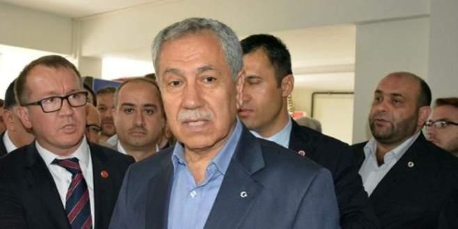 Arınç: 'Türkiye bir cinnetin içinde maalesef'