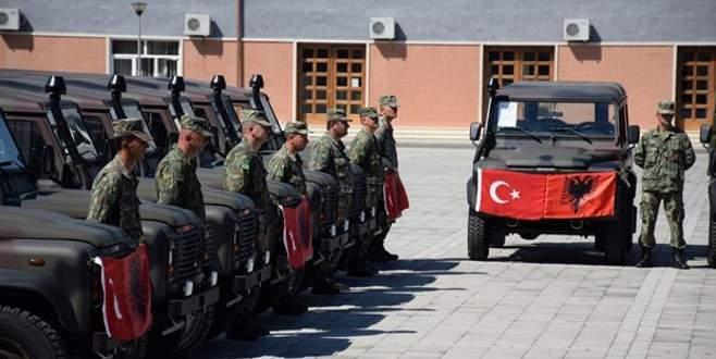 Türkiye bu araçları hibe etti