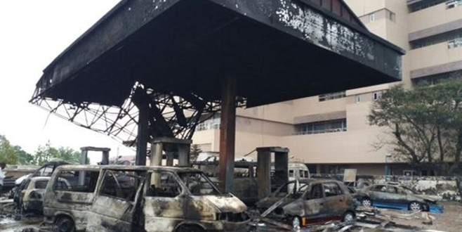Benzin istasyonunda patlama: 96 ölü