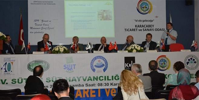 Karacabey'de süt kongresi