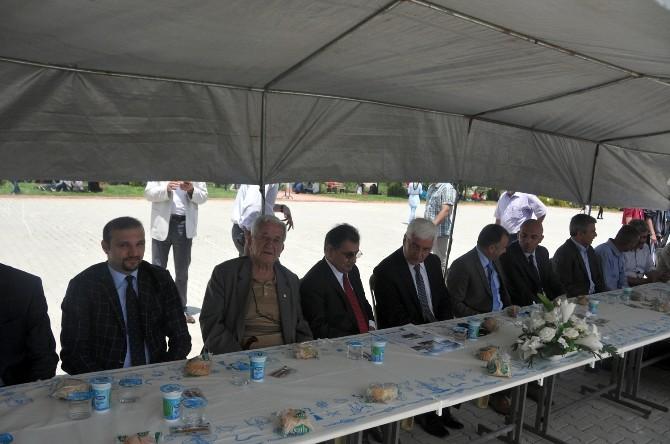 Karaman'da Abdullah Tayyar Anadolu Lisesi'nden Pilav Günü