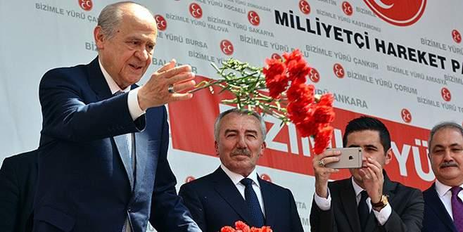 'MHP'nin tek başına iktidarı ufukta görünüyor'