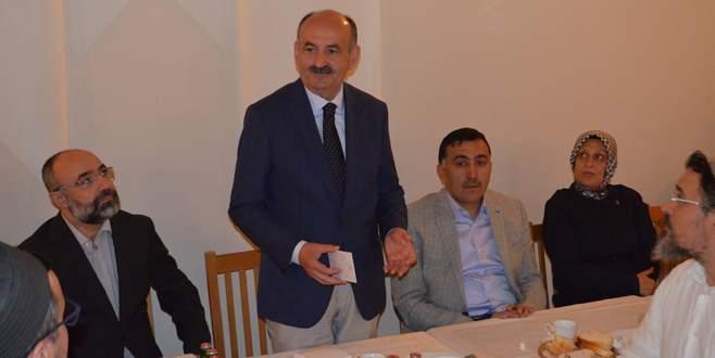 Bakan Müezzinoğlu STK temsilcileriyle buluştu