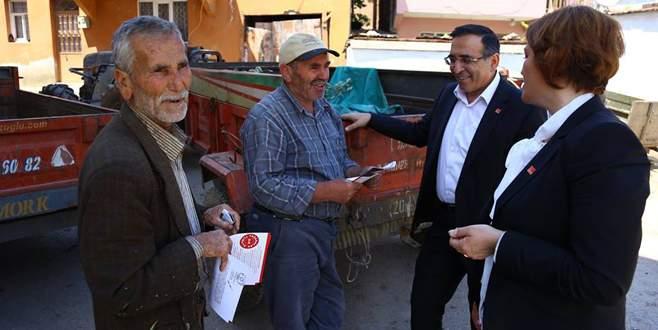 Nuray Çohan tarım projelerini anlattı
