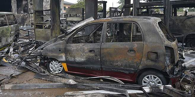 Benzin istasyonundaki patlamada ölü sayısı 150'ye yükseldi