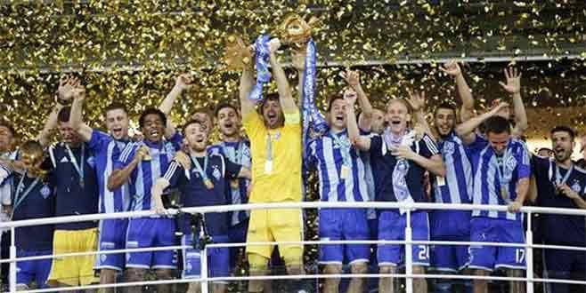 Ukrayna Kupası'nın sahibi Dinamo Kiev oldu