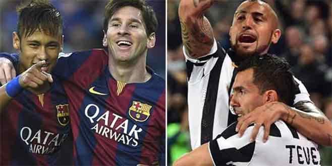 Juventus ile Barcelona 7'nci kez karşılaşacak