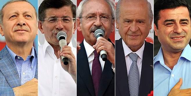 Liderlerin oy kullanacakları yerler belli oldu!