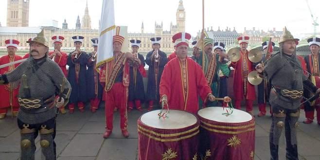 Bursa Mehter Takımı Londra'yı fethetti