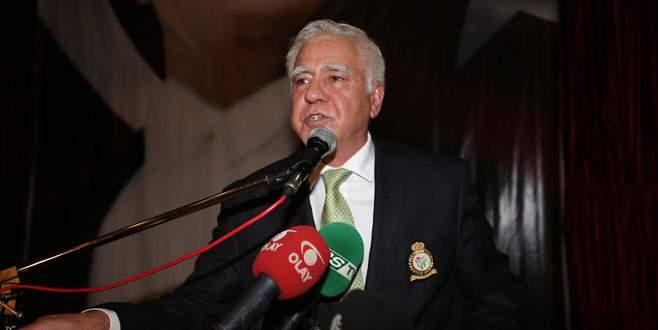Bursaspor Divan Kurulu'nun yeni başkanı İdris Sevinç