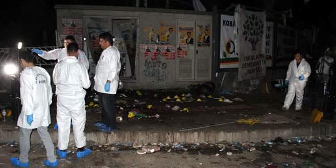 Diyarbakır'daki patlamaya 5 savcı