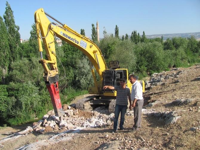 Ardıl Barajı İletim Hattı Yol Çalışması Başlatıldı