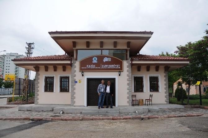 Pursaklar Saray'daki Yeni Muhtarlık Binası Açıldı