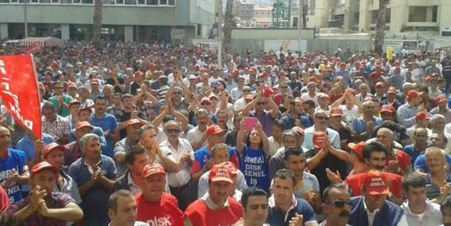 İzmir'de grev sesleri