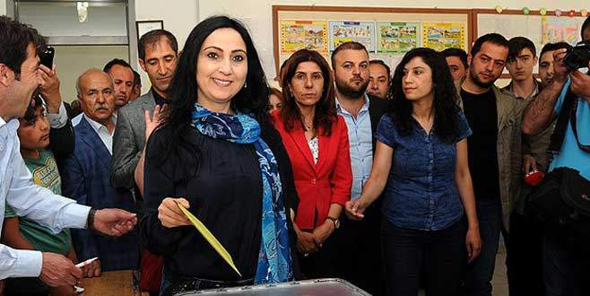 HDP Eş Genel Başkanı Yüksekdağ oy kullandı