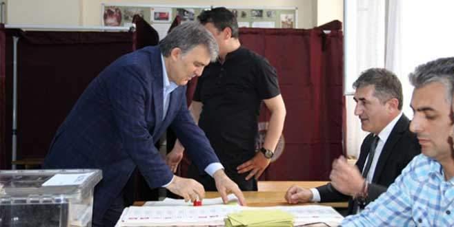 Abdullah Gül: 'Millet kararını veriyor'