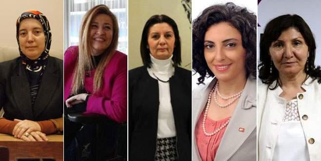 Meclis'e Bursa'dan 5 kadın milletvekili