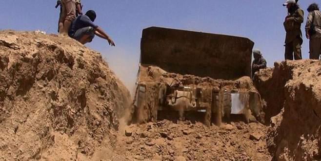 IŞİD hendek kazıyor