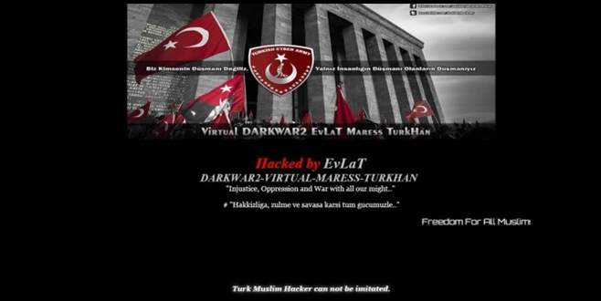 Türk hackerlar 40 siteyi hackledi!