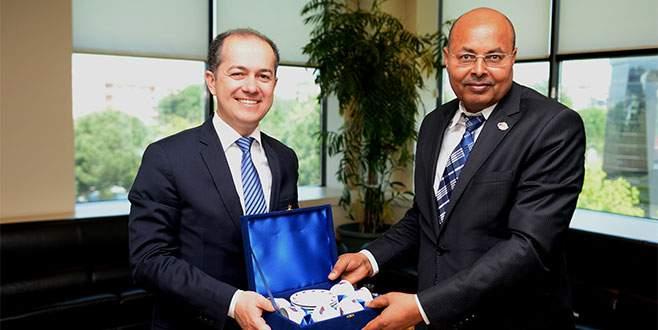 BTSO, Etiyopya büyükelçisini ağırladı