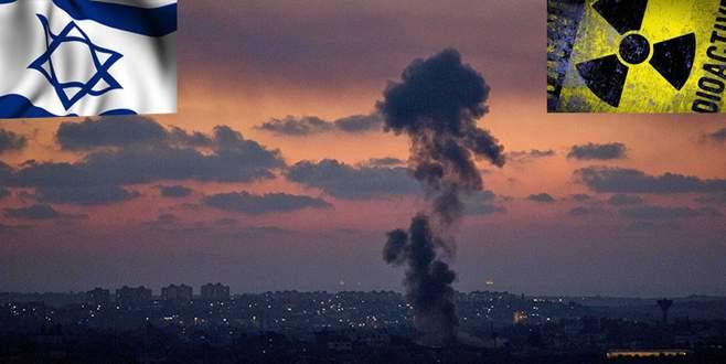 'İsrail radyoaktif patlayıcı denedi'