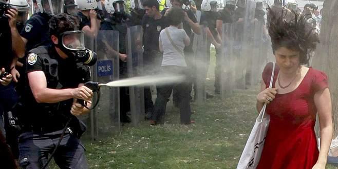 Biber gazı sıkan o polise '600 fidan dikme' cezası!