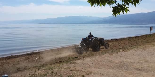 Bursa sahilleri yaza hazır