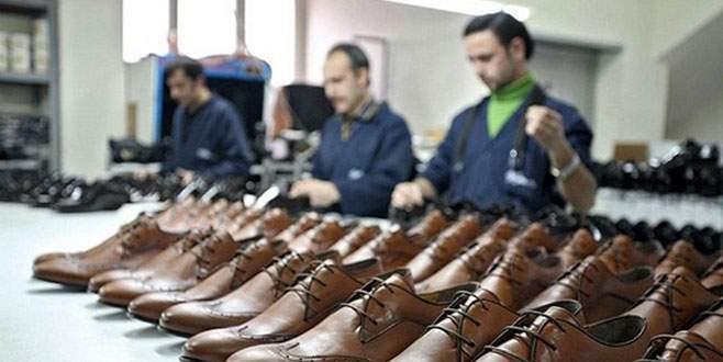 Nüfusu 5 bin olan ilçeden 22 ülkeye ayakkabı ihraç ediliyor