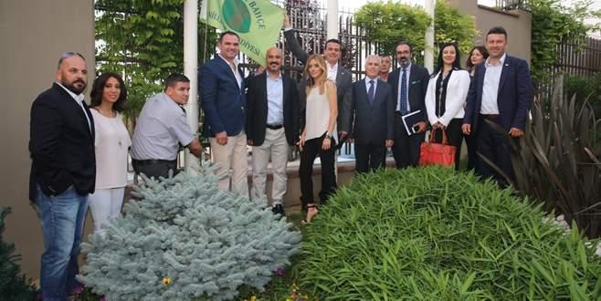 Nilüfer'in en güzel bahçeleri ödüllendirildi