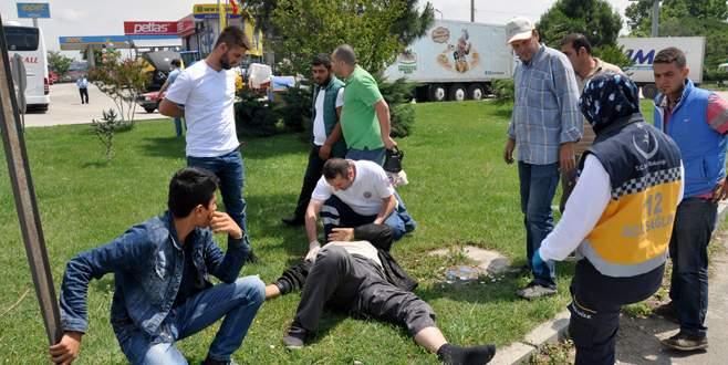 Karacabey'de kaza : 1 yaralı