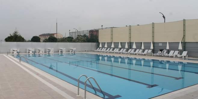 Yenişehir'in havuzu açıldı