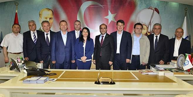 Edebali, Bulgaristan'daki Türk vekilleri ağırladı