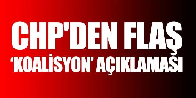 CHP'den açıklama: Hükümet için önceliğimiz…