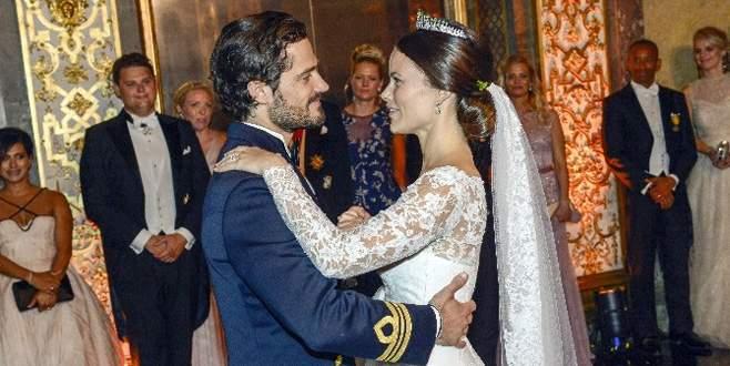 İsveç Prensi Carl Philip evlendi