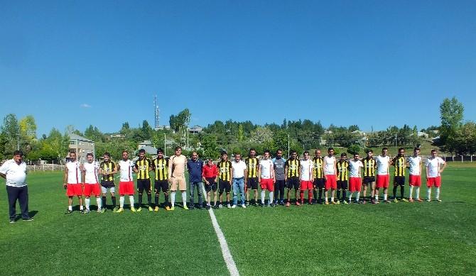 Malazgirt Stadı Dostlukla Açıldı