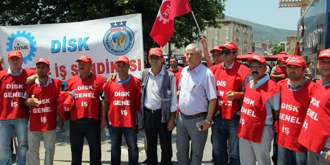 İşçilerin mücadelesini destekliyoruz