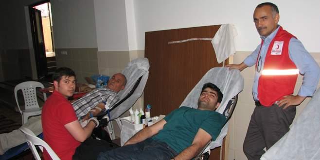 Kestel'de kan bağışına yoğun ilgi