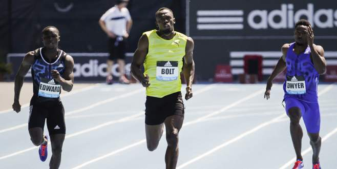 Bolt zorlandı