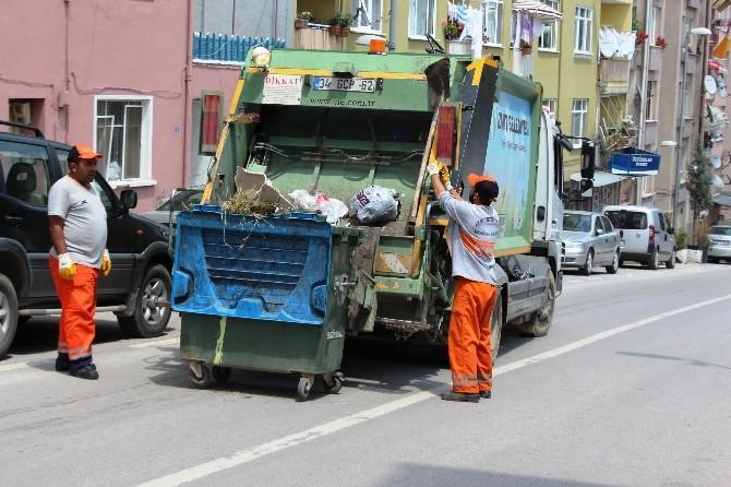 İzmit'te Günde 350 Ton Çöp Çıkıyor