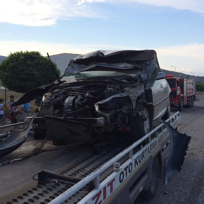 Türkoğlu'nda Trafik Kazası: 1 Yaralı