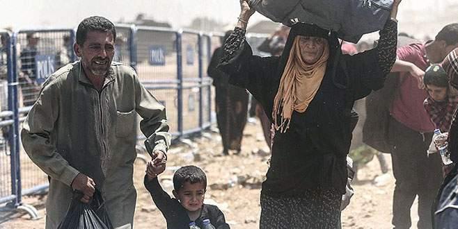 Bir grup Suriyeli daha Türkiye'ye girdi