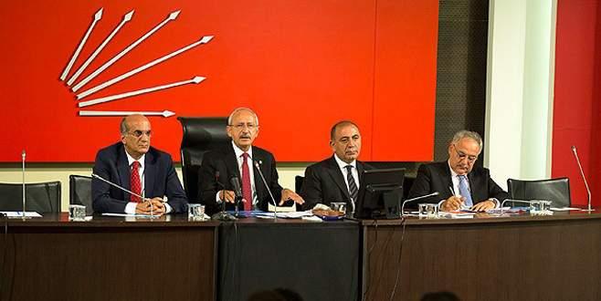 CHP Parti Meclisi Kılıçdaroğlu'na tam yetki verdi