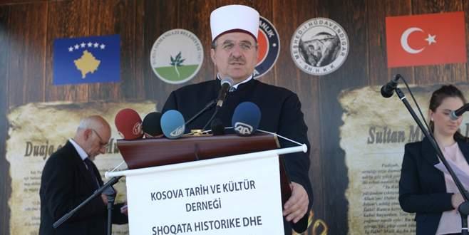 Türkiye'den Kosova'ya dev cami müjdesi