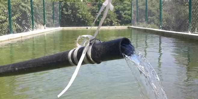 Gemlik'te Muratoba sulama havuzu tamamlandı
