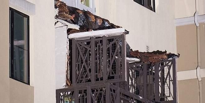 Balkon çöktü: 6 ölü, 7 ağır yaralı