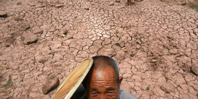 Yüzyılın kuraklığını yaşıyor