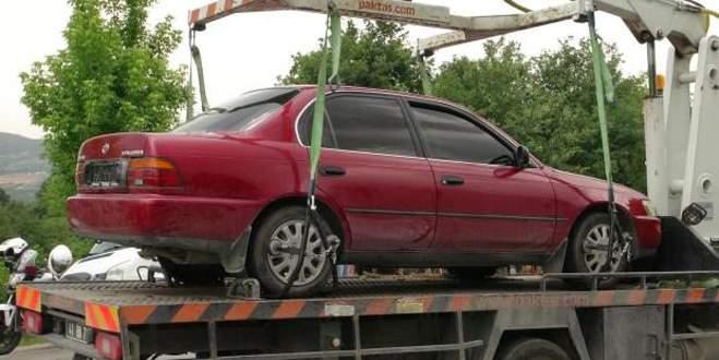 Cezaevi Müdürü suikastinde kullanılan otomobil bulundu