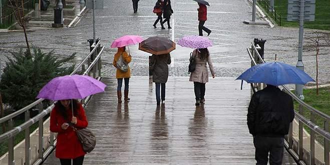 Meteoroloji'den 3 il için yağış uyarısı