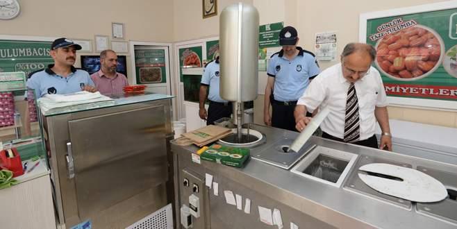 Bursa'da fırınlara ramazan denetimi
